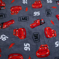 Image of Lightning McQueen Fleece Throw - Personalizable - Cars # 3