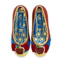 Image of Snow White Costume Shoes for Kids # 3