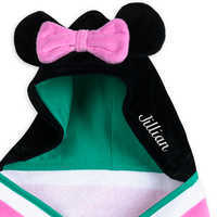 Image of Minnie Mouse Hooded Swim Towel for Baby - Personalized # 4