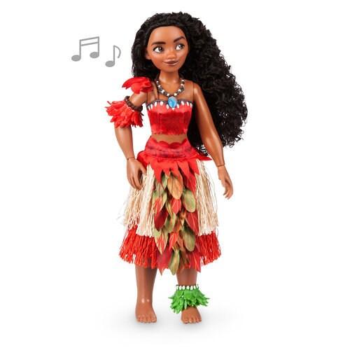Disney Princess Cinderella Singing Doll And Costume Set: Moana Singing Doll