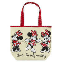 Image of Minnie Mouse Canvas Tote # 1