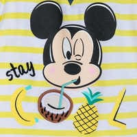 Image of Mickey Mouse ''Stay Cool'' Shirt and Shorts Set for Baby # 3