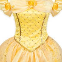 Image of Belle Prestige Costume for Adults by Disguise # 4