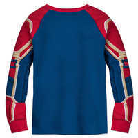 Image of Marvel's Captain Marvel Costume PJ PALS for Girls # 3