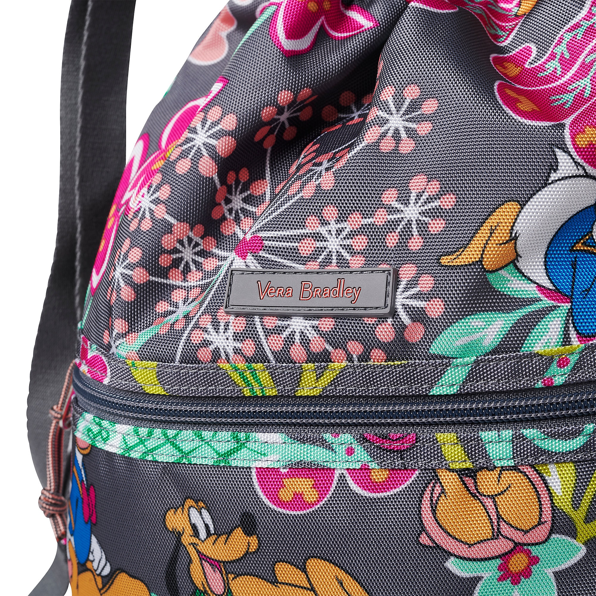 Mickey Mouse and Friends Cinchtop Backpack by Vera Bradley