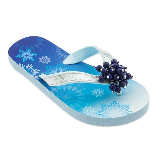 Elsa Flip Flops for Kids - Frozen