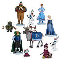 Image of Olaf's Frozen Adventure Deluxe Figure Play Set - 10-Pc. # 1