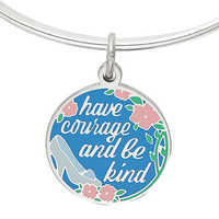 Image of Cinderella ''Have courage and be kind'' Bangle by Alex and Ani # 5