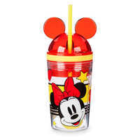 Image of Minnie Mouse Tumbler with Snack Cup and Straw - Disney Eats # 1