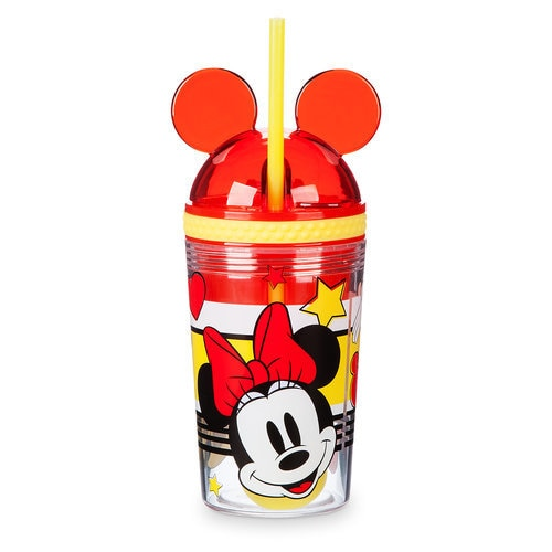 Minnie Mouse Tumbler with Snack Cup and Straw - Disney Eats