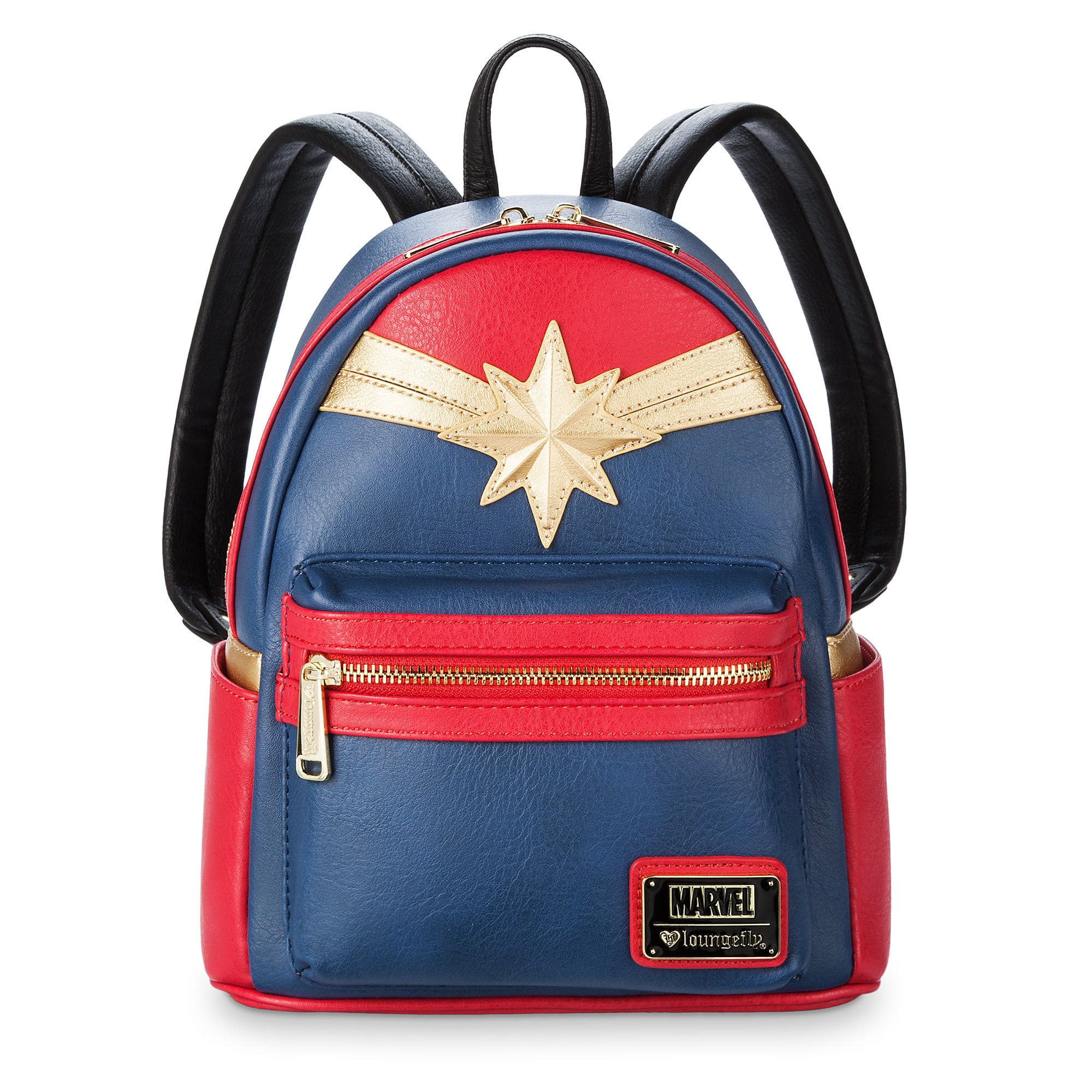 30275c10383f Marvel s Captain Marvel Mini Backpack by Loungefly