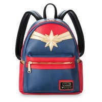 Image of Marvel's Captain Marvel Mini Backpack by Loungefly # 1