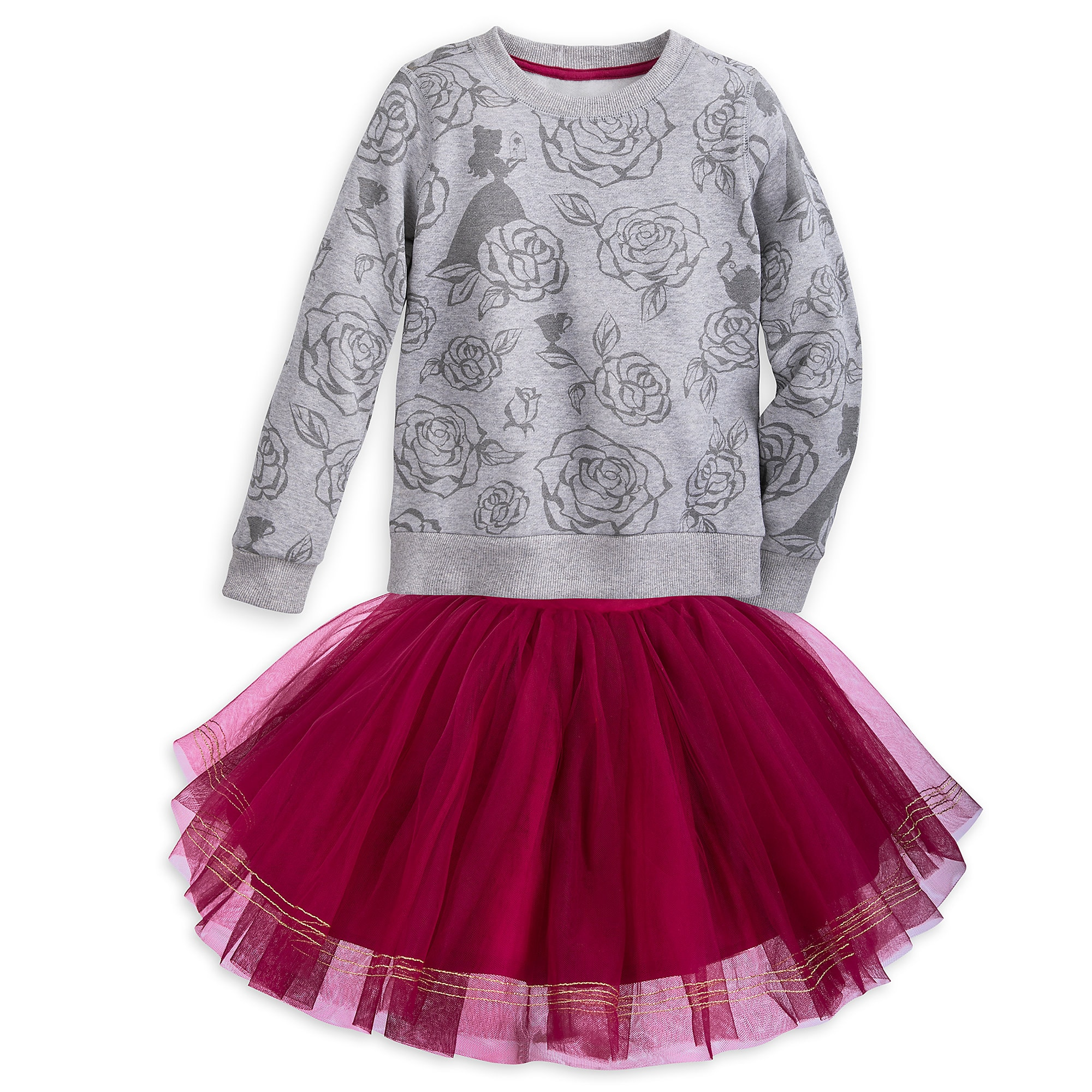 Belle Skirt Set for Girls