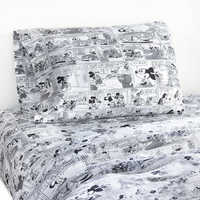Image of Mickey Mouse Comic Strip Sheet Set by Ethan Allen # 2