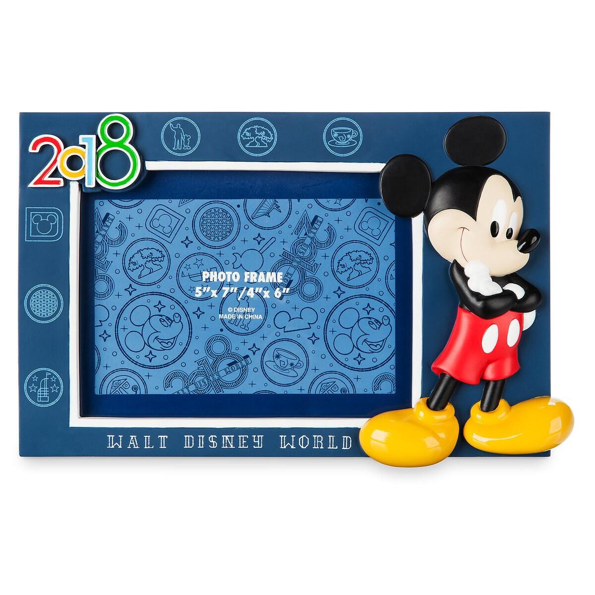 Mickey Mouse Photo Frame - Walt Disney World 2018 | shopDisney