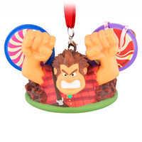 Image of Wreck-it Ralph Ear Hat Ornament - Ralph Breaks the Internet # 1