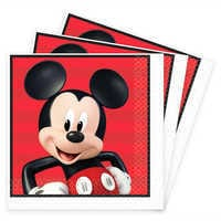 Image of Mickey Mouse On the Go Lunch Napkins # 1