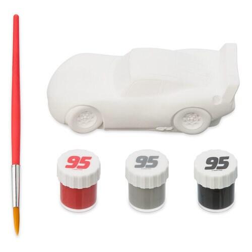 Lightning McQueen Paint Set - Cars