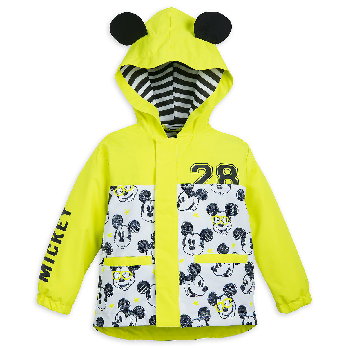 cc596ff6d Product Image of Mickey Mouse Packable Rain Jacket and Attached Carry Bag  for Kids # 1