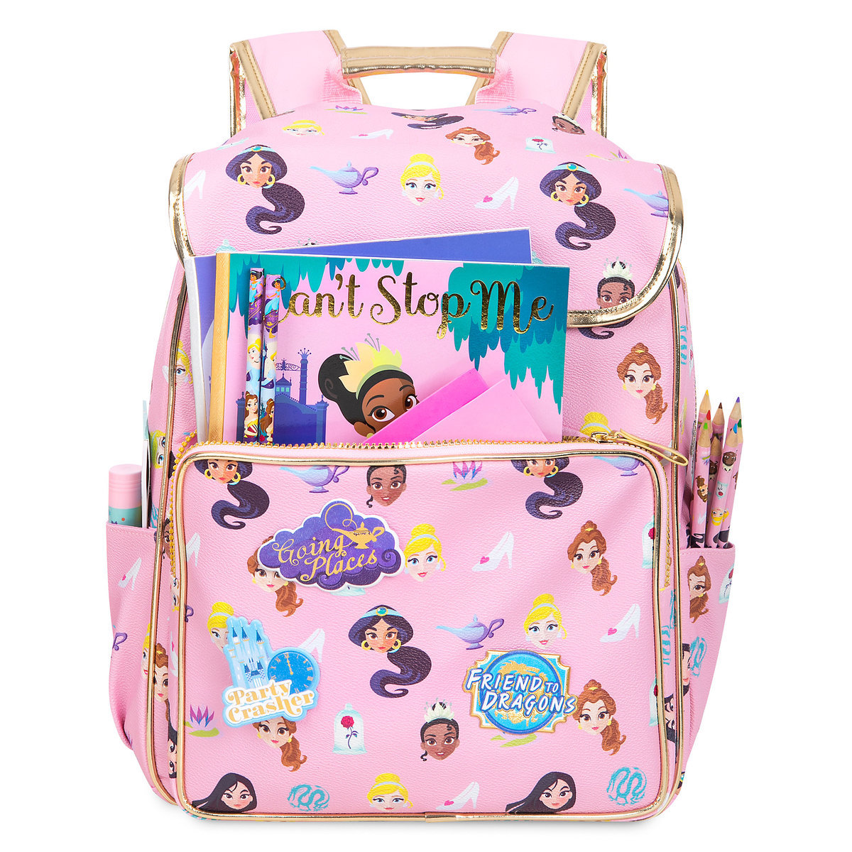 Product Image of Disney Princess Backpack - Personalizable   4 8da9676d3079a