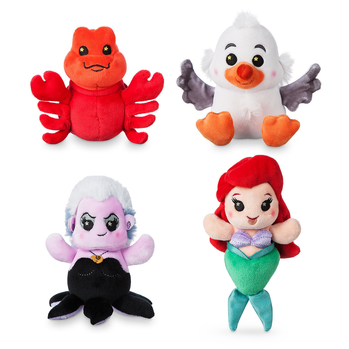 Disney Parks Wishables Mystery Plush - Ariel's Undersea Adventure Series