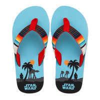 Image of Star Wars Flip Flops for Kids # 2