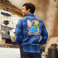 Image of Max Rebo Band Flannel Shirt for Adults - Star Wars # 2