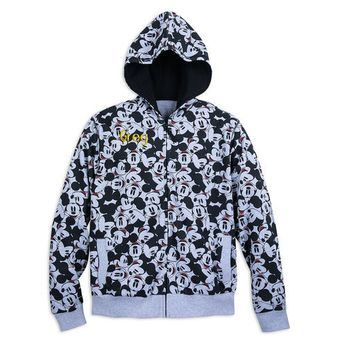 Mickey Mouse Hoodie for Men - Personalizable