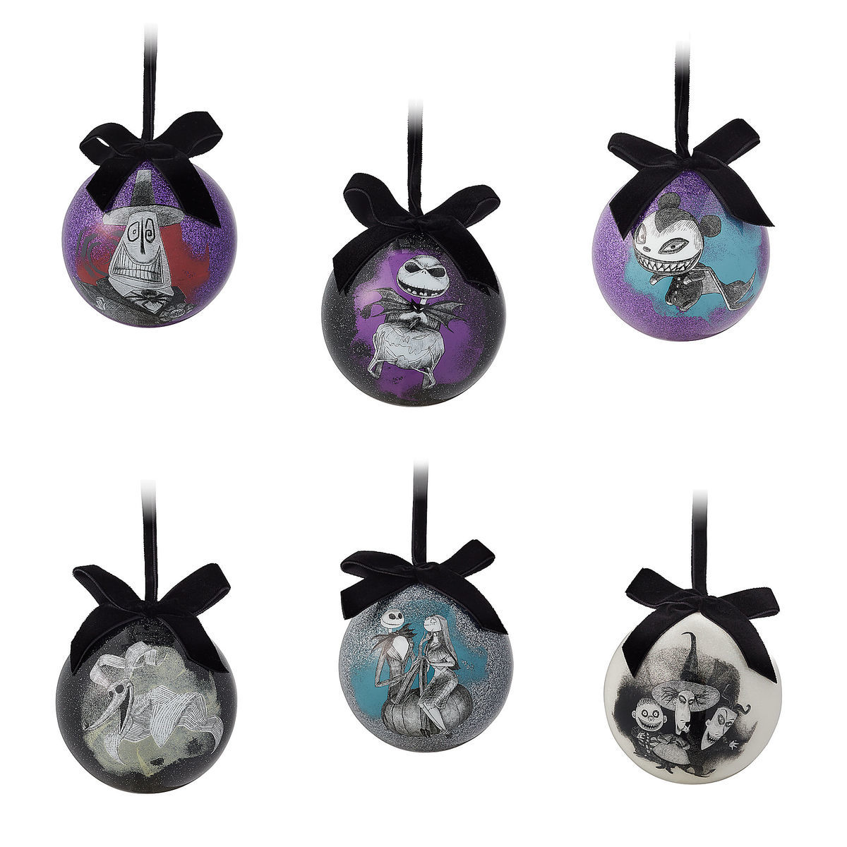 888b24fd10f4e Product Image of The Nightmare Before Christmas Ball Ornament Set   1