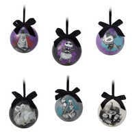 Image of The Nightmare Before Christmas Ball Ornament Set # 1