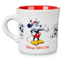 Image of Mickey Mouse Diner Mug - Disney Cruise Line # 2