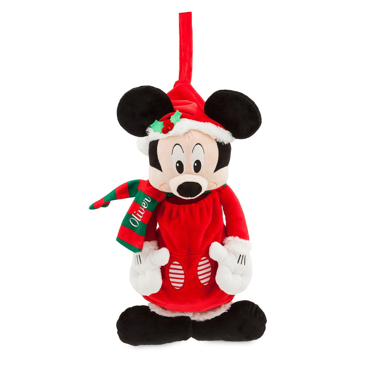 2dc11085b Santa Mickey Mouse Stocking - Personalizable