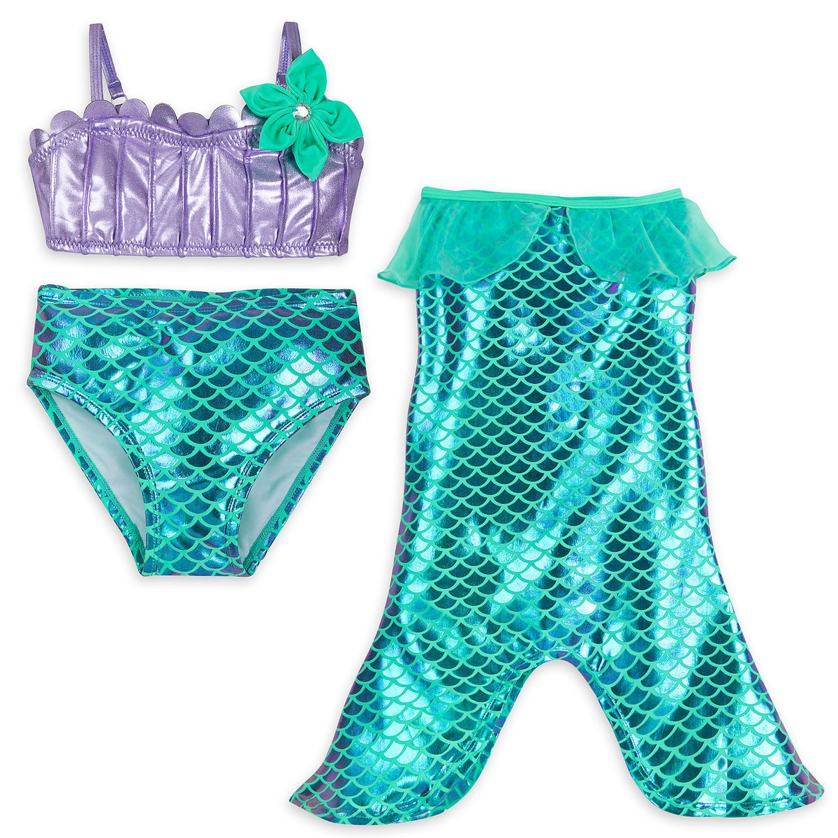 270695a35d29d Product Image of Ariel Swimwear Set for Girls # 1