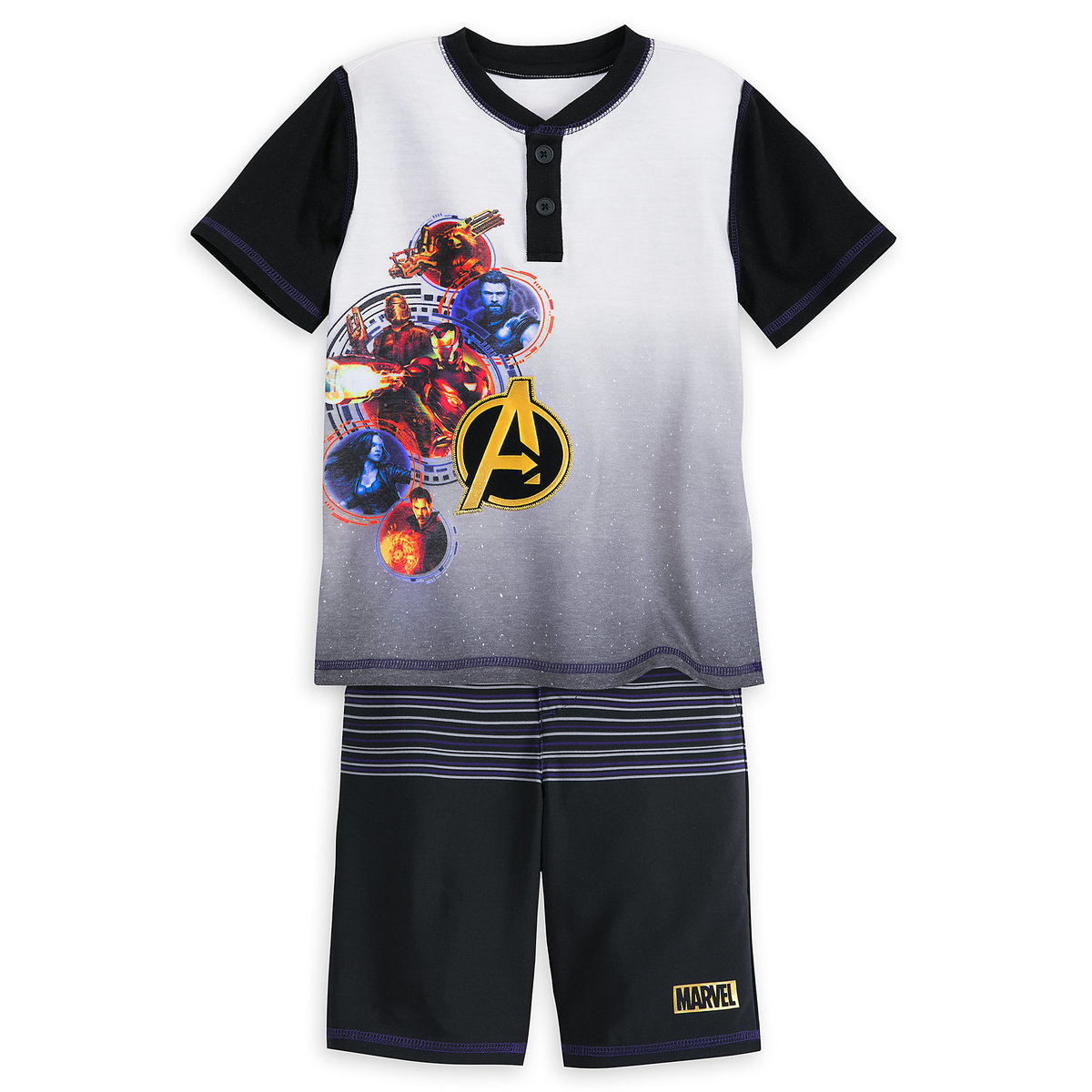 a1b38d5e8 Product Image of Marvel's Avengers: Infinity War T-Shirt and Shorts Set for  Boys