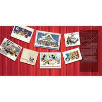 Image of The Disney Christmas Card Book # 2