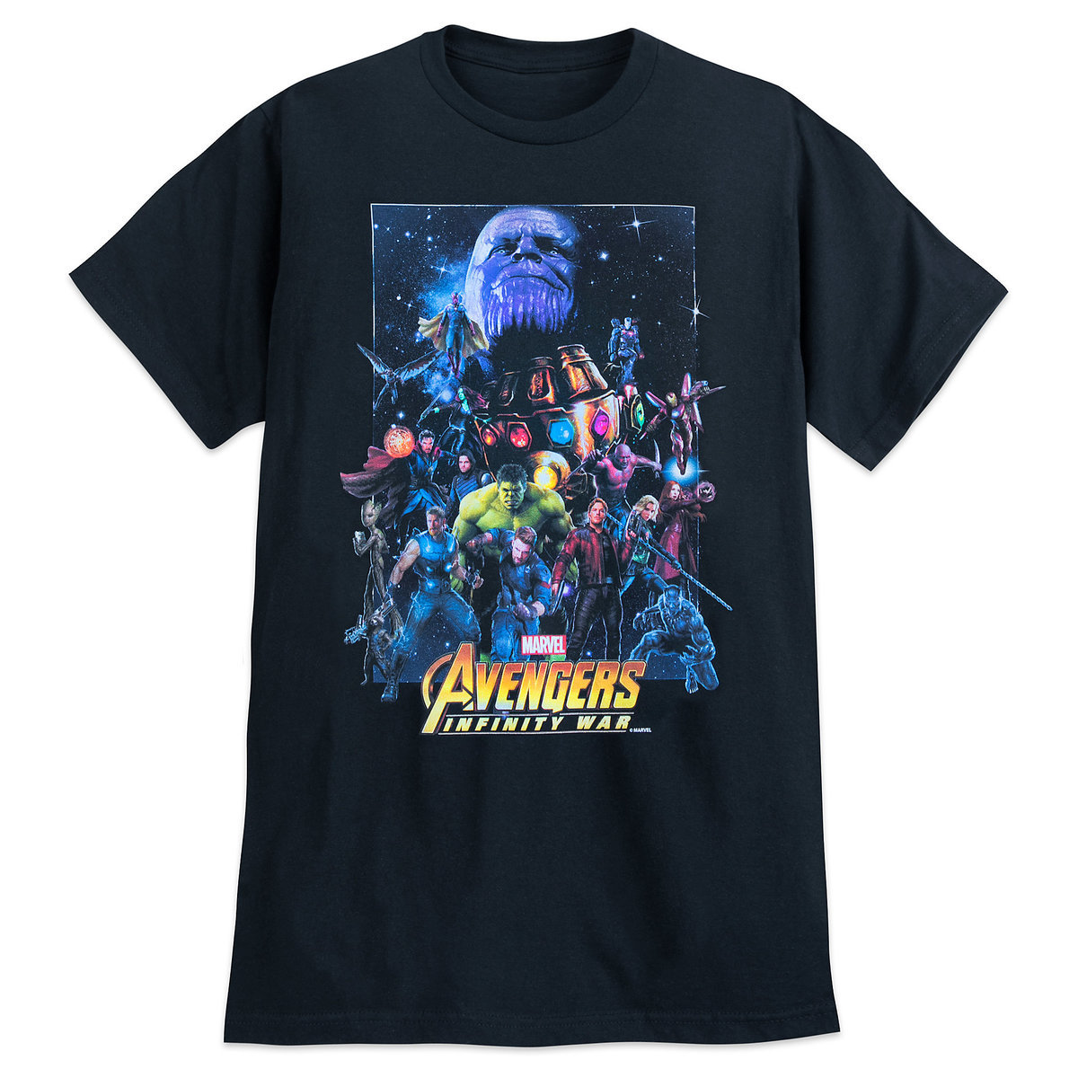 ae239979a Product Image of Marvel's Avengers: Infinity War T-Shirt for Adults - Movie  Poster