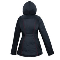 Image of Black Widow Hooded Jacket for Women by Her Universe # 2