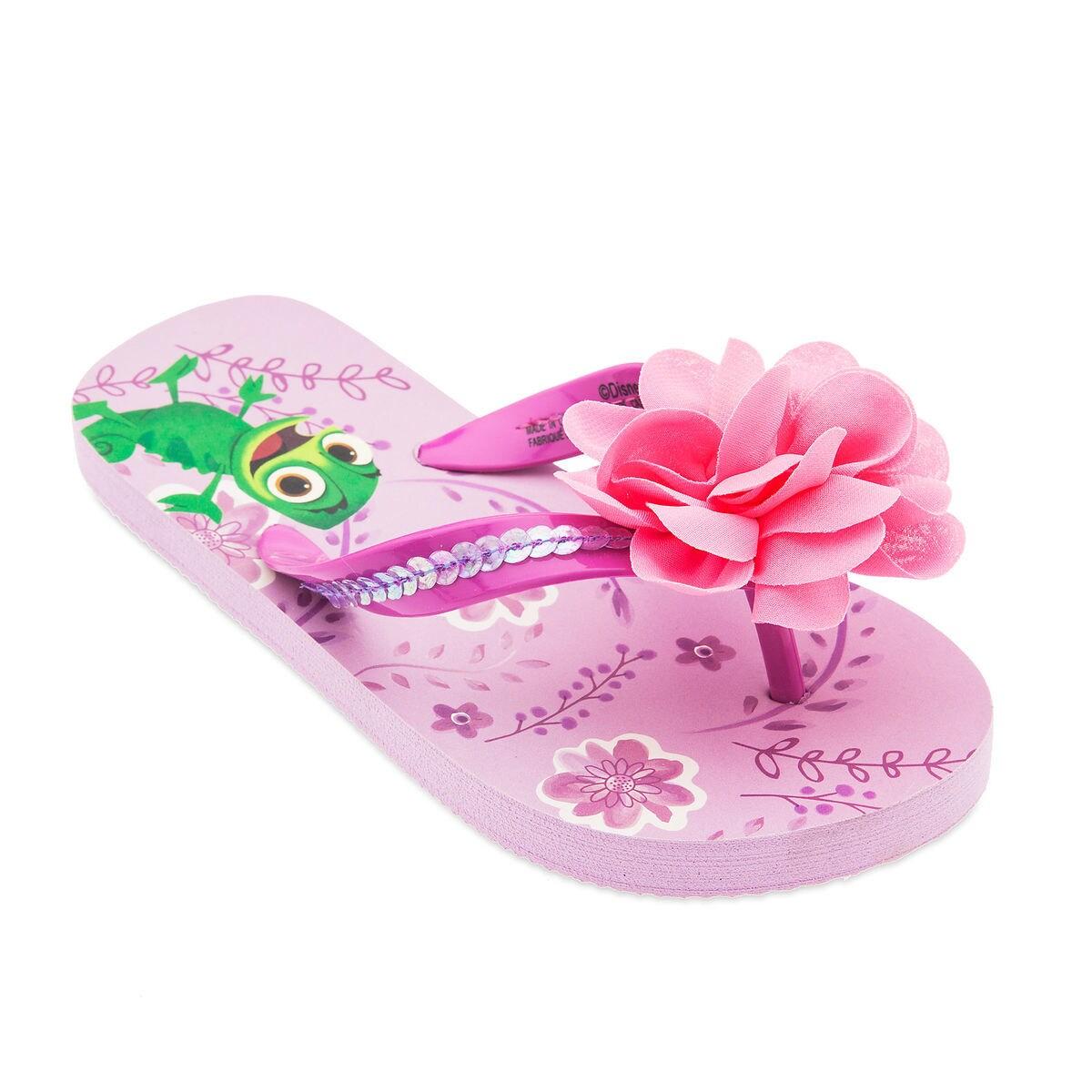 5c22ff5c7b492 Product Image of Rapunzel Flip Flops for Kids   1