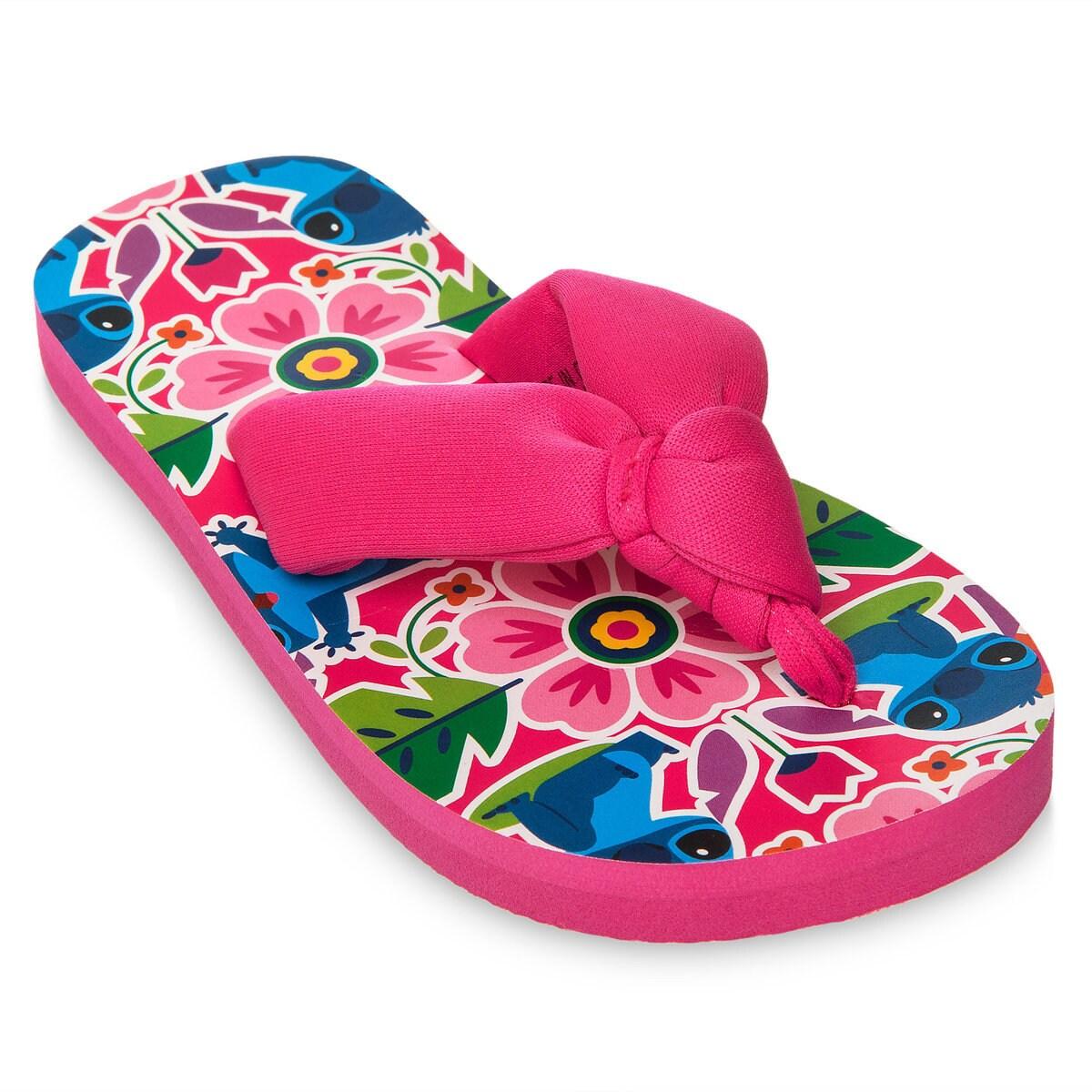 29c756df08dfa Product Image of Stitch Flip Flops for Girls # 1