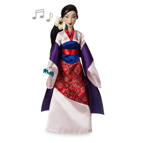 Mulan Singing Doll - 11 1/2''