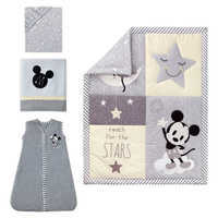 Image of Mickey Mouse Crib Bedding Set by Lambs & Ivy # 1
