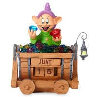 Image of Dopey Perpetual Calendar Figurine by Precious Moments # 1