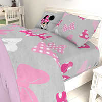 Image of Minnie Mouse Bow Sheet Set - Twin / Full # 7