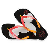 Image of Mickey Mouse Silhouette Flip Flops for Adults by Havaianas # 4