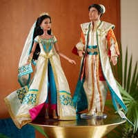 Image of Jasmine and Aladdin Limited Edition Doll Set - Live Action Film - 17'' # 2