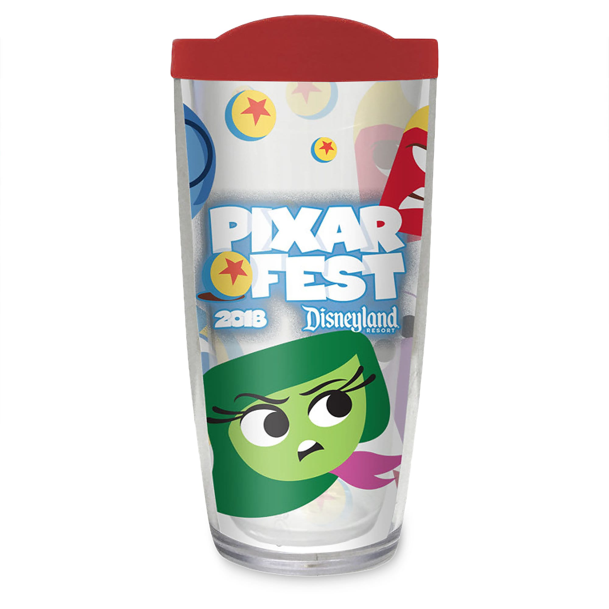 Inside Out PIXARFEST 2018 Travel Tumbler - Disneyland - Limited Release