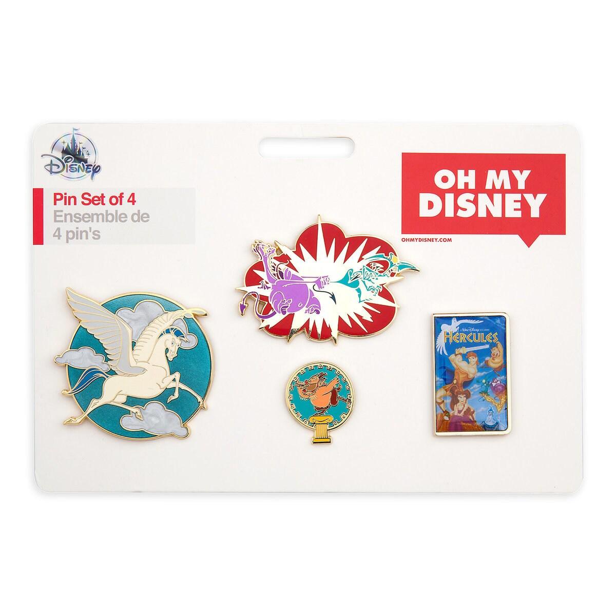 fac55defce9b Product Image of Hercules Pin Set - Oh My Disney   6