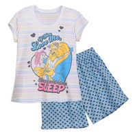 Image of Beauty and the Beast Short Sleep Set for Women # 1