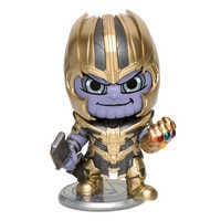 Image of Thanos Cosbaby Bobble-Head Figure by Hot Toys - Marvel's Avengers: Endgame # 1