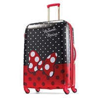 Image of Minnie Mouse Bow Luggage - American Tourister - Large # 1